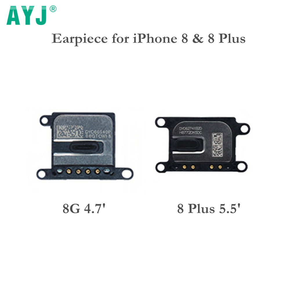 AYJ 100% New Earpiece Speaker For iPhone 8 4.7' Ear Speaker Replacement for iPhone 8 Plus 8plus