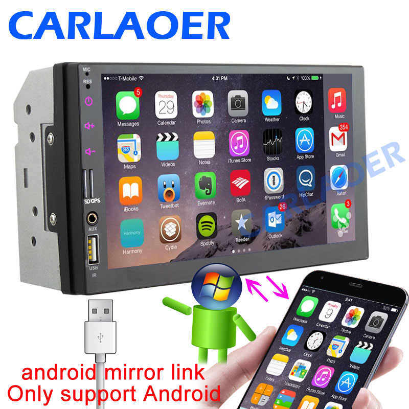 2 Din Car radio Multimedia Player 2Din 7
