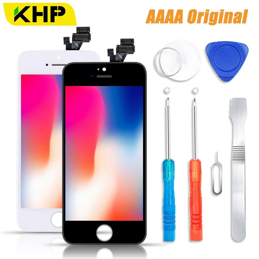 5S KHP 100% AAAA pantalla LCD Original para iPhone 5S 5 SE 5C pantalla LCD pantalla digitalizador módulo táctil 2018 SE pantalla reemplazo