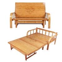 Multi functional бамбуковая раскладная кровать софа мебель для спальни современная двуспальная кровать queen/King size Space Saving складная мебель кровать