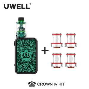 Image 3 - UWELL Crown 4 Kit & Coil Set 5ml Crown 4 Tank 5 200W Crown Box Mod Crown IV Kit Electronic Cigarette Vaporizer