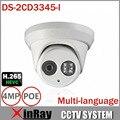 ХИК 1080 P Full HD 4MP многоязычная ВИДЕОНАБЛЮДЕНИЯ Камеры DS-2CD3345-I POE IPC ONVIF Водонепроницаемая Камера Для Системы Безопасности