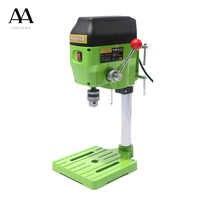 AMYAMY Mini drill machine Drill Press Bench Small Drilling Machine Work Bench EU plug 580W 220V 5169A