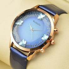 Brand Womage Watch Hot Sell Fashion Women Ladies Watches Leather Straps Female Clock Wrist Watches saat montre femmereloj mujer