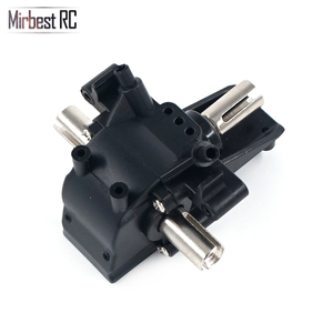 Image 2 - Mirbest RC DIY Parts For Wltoys 12428 Parts 12423 RC car parts Metal gear differential front wave box 12428 Upgrade accessories