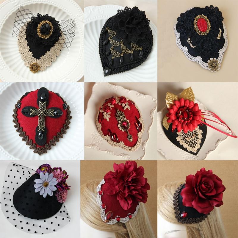 1pcs Womens Mini Top Hat dance Party Halloween christmas Nightclub Hat Women's Clothing & Accessories