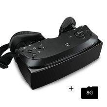 Caixa VR 3.0 Óculos Pro 46 para PC HMD-518 3D Privado Cinema Teatro móvel 80 Polegada 640*360 8G ROM de Alta Resolução Dupla lente