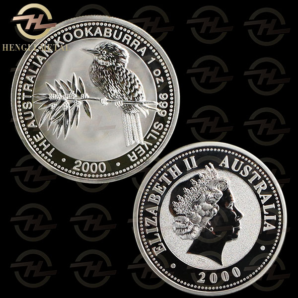2000 P Australian Perth Mint Wildlife Animal Coin