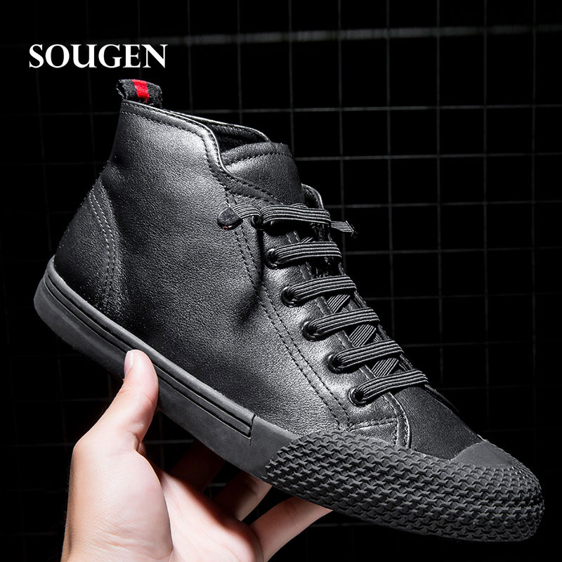 Ons Men Genuine Leather Shoes Male Shoes Adult Krasovki Footwear Casual Elevator Moccasins Driving Footwear Luxury Brand Hot New vesonal 2017 brand casual male shoes adult men crocodile grain genuine leather spring autumn fashion luxury quality footwear man