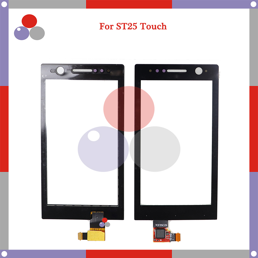 High Quality For <font><b>Sony</b></font> Xperia ST25i <font><b>ST25</b></font> ST25a Touch Screen Panel Sensor Digitizer Outer Glass Lens image