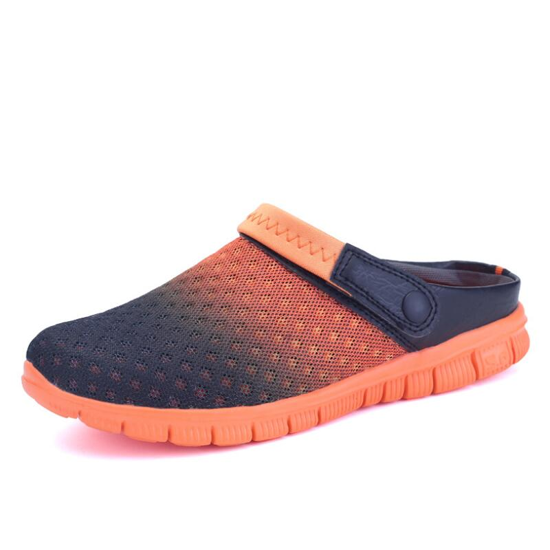 Summer Men and Wife Sandals Tow Uses Platform Breathable Nom-slip Casual Mules Beach Clogs Shoes