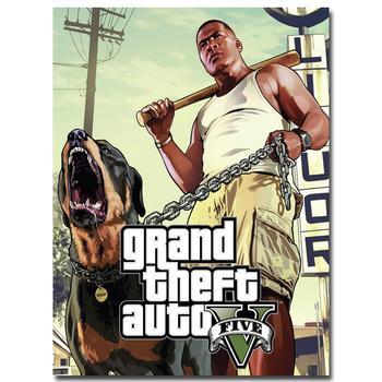 Шелковый Плакат Гобелен Grand Theft Auto V Вариант 12