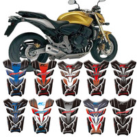 Motorcycle 3D Fuel Tank Protective Stickers Decals For Honda Hornet CB600F CB900F CB1000R 1998 2013