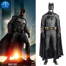 MANLUYUNXIAO Men Batman Cosplay Costume Justice League Cosplay Deluxe Outfit Halloween Costume For Men Custom Made High Quality цены