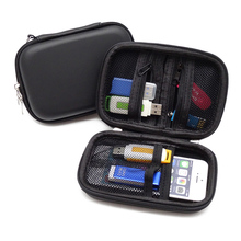 Mini Zipper Digital Accessories Case Travel Storage Bag for Earphone U Disk USB Cable Charger Portable