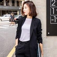 Suit Jacket Korean Version Leisure Temperament Small Suit La