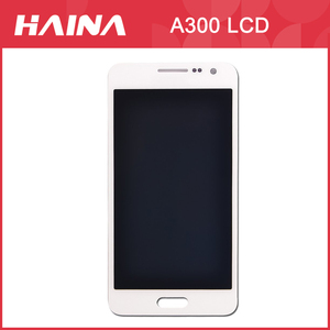 Image 1 - A3 Display Voor Samsung Galaxy A3 LCD A3000 A300F, A300FU, A300G, A300HQ, A300M, a300YZ Scherm Touch digitizer Vergadering