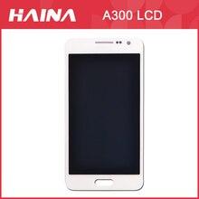 A3 wyświetlacz do Samsung Galaxy A3 LCD A3000 A300F, A300FU, A300G, A300HQ, A300M, A300YZ wyświetlacz ekran dotykowy digitizer montaż