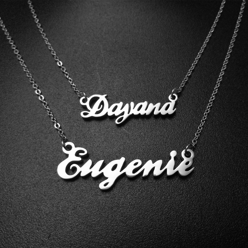 US $4.19 10% OFF Any Personalized Name Necklace pendant Alison font fascinating pendant custom name necklace Personalized necklace-in Pendant Necklaces from Jewelry & Accessories on Aliexpress.com   Alibaba Group