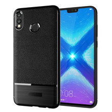 for huawei honor 8x fitted shockproof back cover anti-skid anti-fingerprint silicone soft black tpu phone case for samsung galaxy a7 2018 fitted shockproof back cover anti skid anti fingerprint silicone soft black tpu phone case