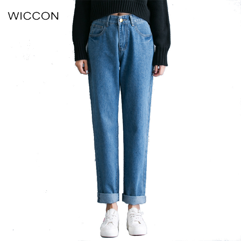 Compare Prices on High Waisted Boyfriend Jeans- Online Shopping ...