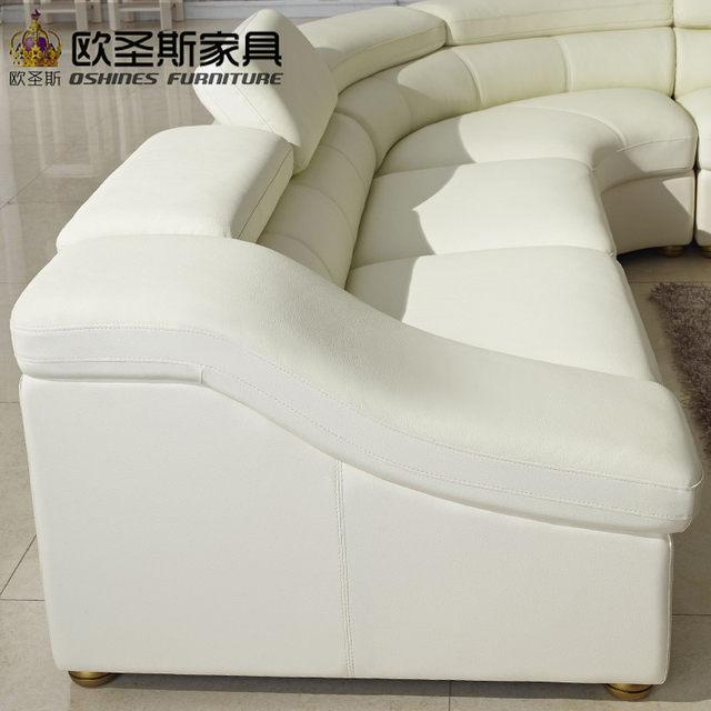 Delicieux Semi Circle Half Moon Leather Sofa Set,modern Furniture , New Model Sofa  Sets , Living Room Furniture Set OCS 628