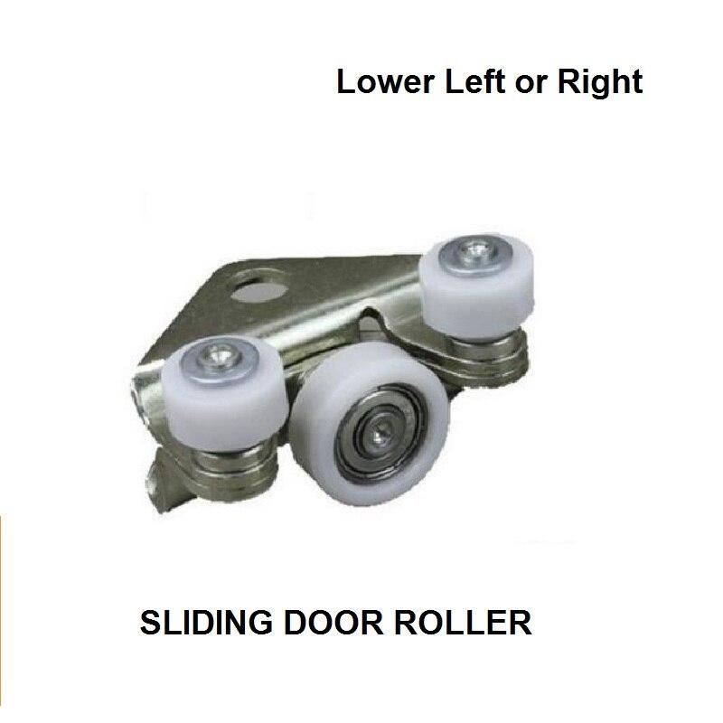 OE#701843406B FOR VW T4 SYNCRO BOTTOM CENTRE LEFT AND RIGHT SLIDING DOOR ROLLER GUIDE 1990-2003