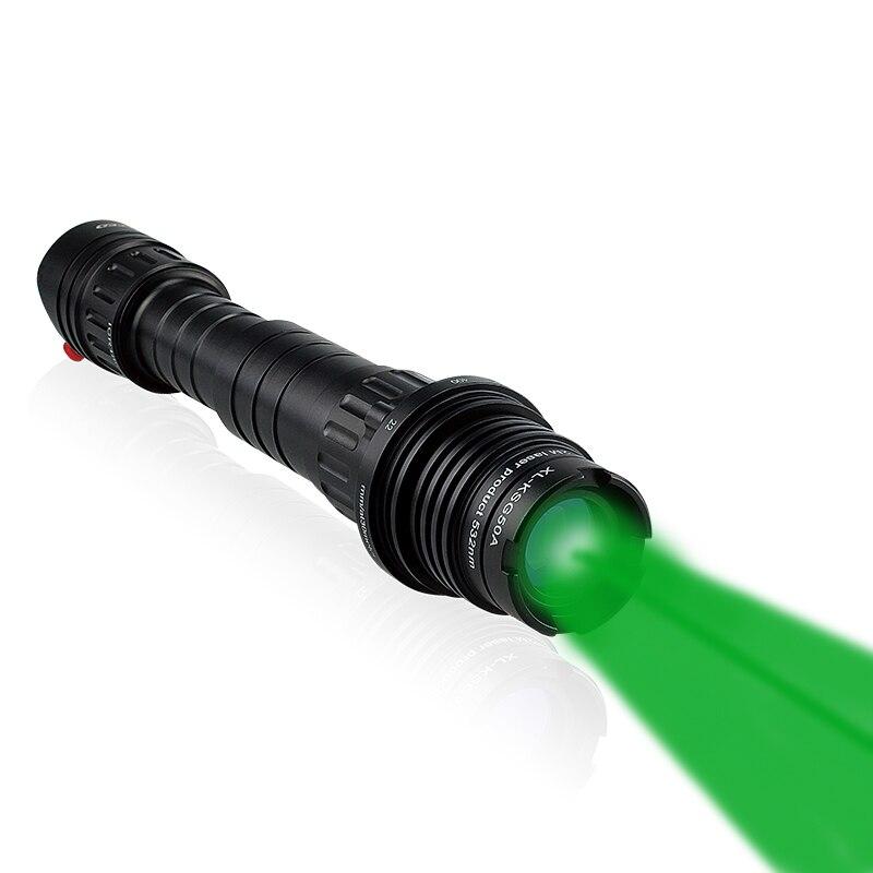 Laserspeed Chasse Longue Distance Vert Désignateur Laser lampe de Poche Rifle Sight 100 mw Zoomables Haute Puissance pointeur Laser