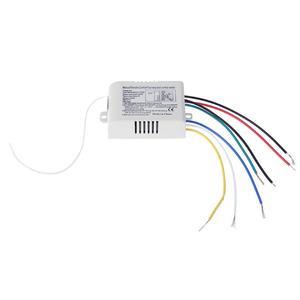Image 5 - 4 röle 220V kablosuz RF uzaktan kumanda anahtarı verici + alıcı dijital akıllı akıllı dijital ev duvar lambası uzaktan