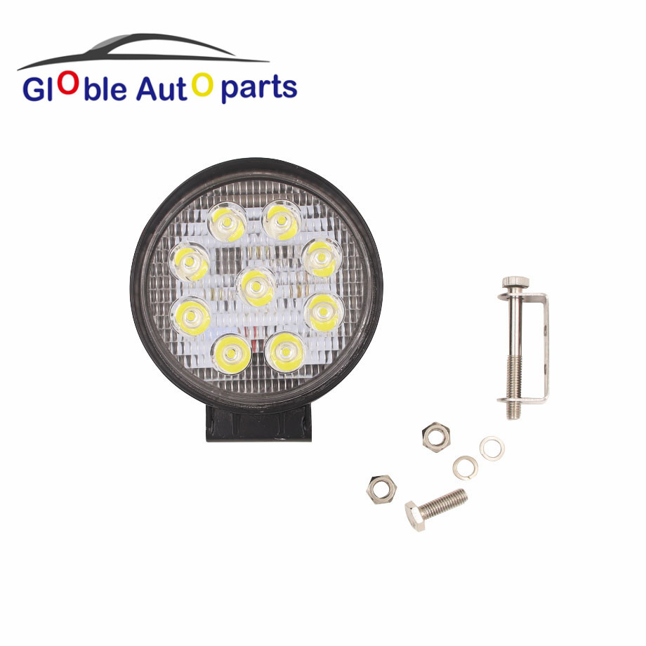 Decorative Lamp  4 Inch 27W LED Work Light for Indicators Motorcycle Driving Offroad Boat Car Tractor Truck SUV ATV 12V 24V