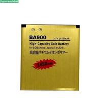 supersedebat 10pcs/lot 100% li ion Battery BA900 for Sony Ericsson Xperia TX Replace Batteries Accumulator bateria wholesale