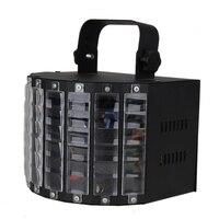 100 V-240 V Ses Aktif DMX Sahne Aydınlatma LED Işık Lazer RGBW etkisi Kulübü Disko Parti Müzik Gösterisi Için Lazer Projektör İNGILTERE fiş