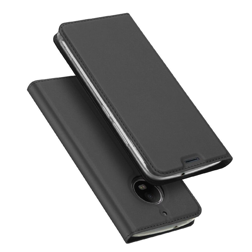 For Motorola Moto G5S Case Luxury Leather Flip Case For ...