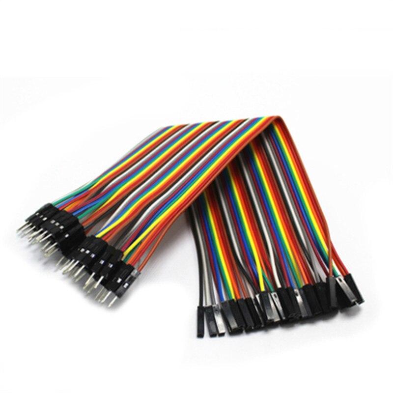 Dupont кабель Перемычка провода dupont линия между штыревыми и штыревыми, штыревыми и женскими, Женский и Женский dupont линия 20 см 1P 40P