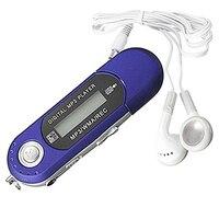 Топ предложения 8 ГБ USB 2.0 Flash Drive ЖК-дисплей мини MP3 плеера с fm Радио голос Регистраторы (синий /красный)