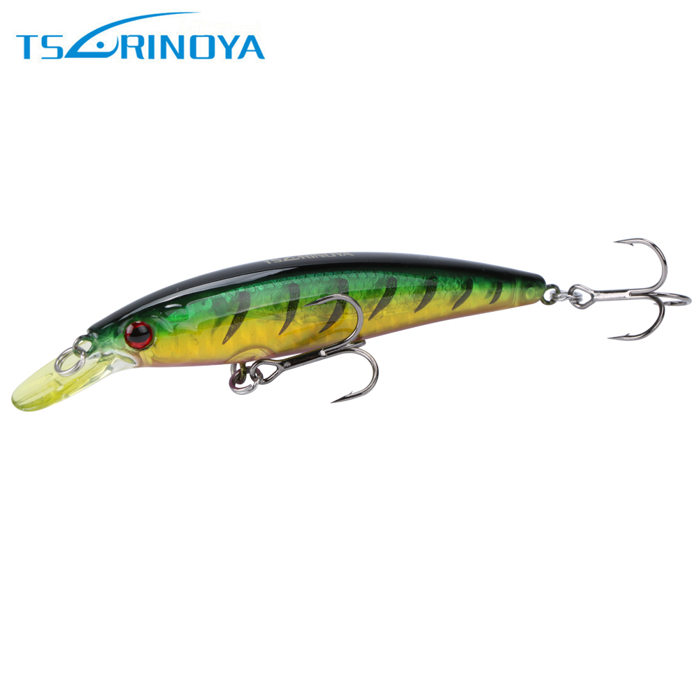 Trulinoya 1pcs DW11 Minnow Plastic Deep Diver Hard Lures Fishing Lures Artificial Bait 95mm 9g
