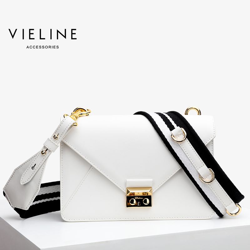Vieline women genuine leather leather shoulder bag Famous Designer Brand real leather hangbag freeshipping