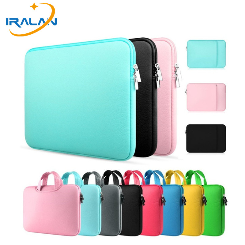 Best selling Zipper Computer Sleeve Case For Macbook Laptop AIR PRO Retina 11 12 13 14 15 15.4 inch Notebook Touch Bar 15.6 Bag