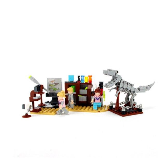 Legoings Jurásico mundo dinosaurio figura parque Animal salvaje ...