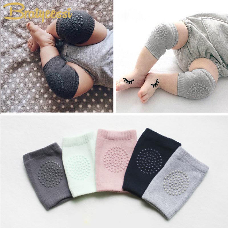 New Cotton Summer Baby Knee Pads Kids Anti Slip Crawl Necessary Knee Protector Baby Leg Warmers 1 Pair mymei cotton knee pads kids anti slip crawl necessary baby knee protector leg warmers
