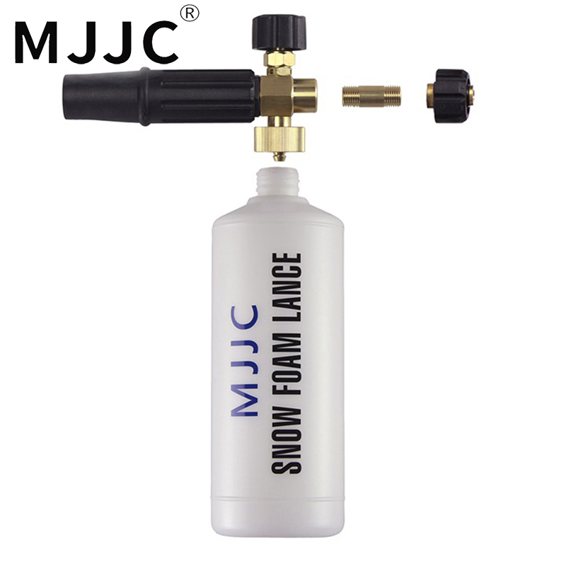 MJJC Brand with High Quality Foam Gun Foam Lance for Karcher HD m22x1.5 AG thread and new EAZY LOCK 22 Eazy Force 22mm mjjc brand foam lance for karcher 5 units package free shipping 2017 with high quality automobiles accessory
