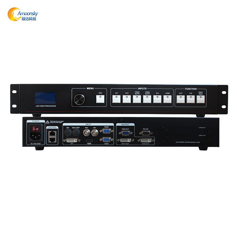 Free shipping lowest price AMS MVP508 led display controller led video processor support linsn ts802d ts901
