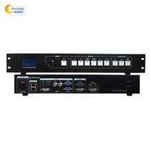 O envio gratuito de menor preço AMS-MVP508 apoio controlador de display led processador de vídeo levou linsn ts802d ts901 novastar msd300