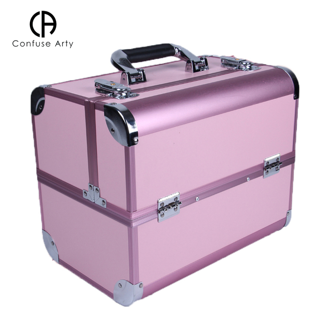 Portable Cosmetic Bag Suitcases Makeup Beauty Professional Multi Function Cosmetology Tattoo Eyebrow Teacher Manicure Case