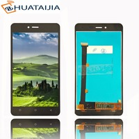 5 720x1280 HD LCD Display Matrix Touch Screen For Highscreen Prime L Digitizer Panel Sensor Lens