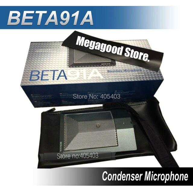 Бета половина - кардиоидный конденсатор микрофон BETA91A басовый барабан микрофон, Condensor проводная зернограничное микрофон