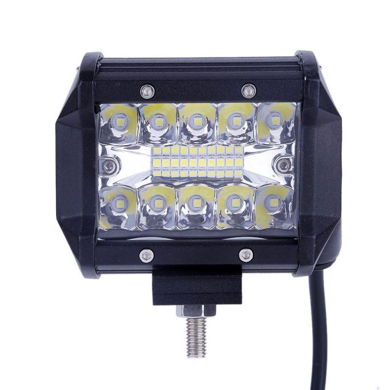 2pcs 4 120W LED Work Light Off road Driving Lights Spot Flood Fog lights Waterproof LED Cubes for Truck Jeep Boat Pick Up