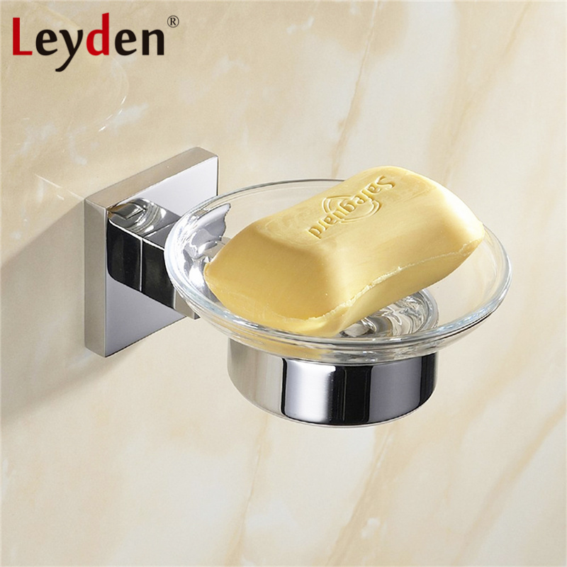 Leyden stainless steel soap holders polished chrome - Ceramic soap dishes for bathrooms ...