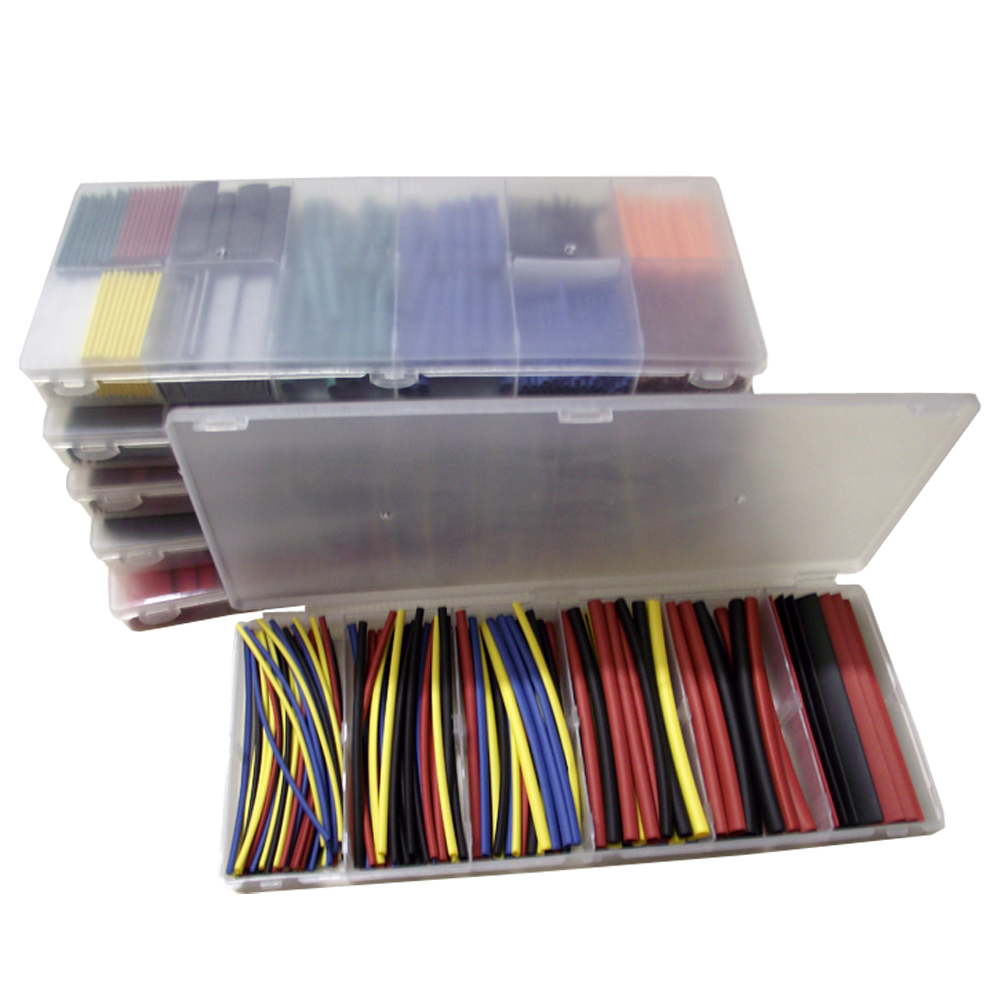 Heat Shrink Tubing Shrink Tube Insulating Tape Wrap Wire Heating Cable Sleeve Kit Color 160pcs 6 Size in 1 Set High Qual WWO66 160pcs multicolor heat shrink tubing kit flexible heat shrink tube cable sleeving sleeves wire wrap shrinkage heatshrink set