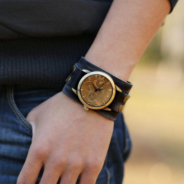 elige el más nuevo online para la venta busca lo mejor reloj pulsera ancha hombre